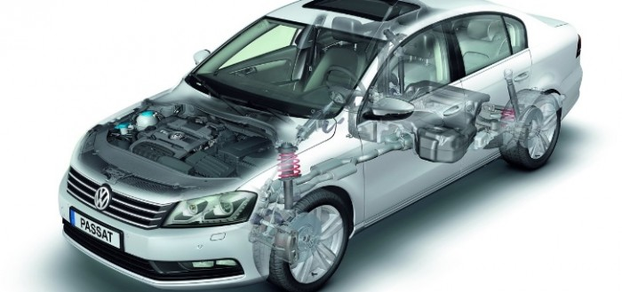 Turbina VW Passat 1.9TDI