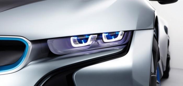 Faruri laser BMW
