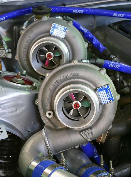 turbocompresoare de dimensiuni diferite