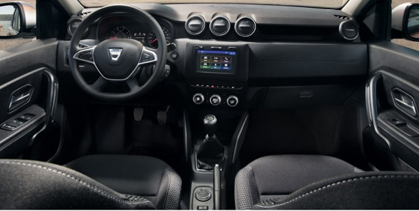 Duster 2018 interior
