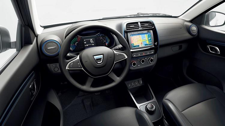 Interior Dacia Spring Electrica